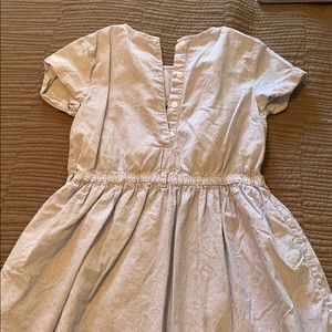 Carter's Dresses - Blue and White Striped Dress